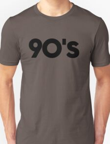 back to 90's T-Shirt