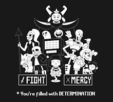 CHEAP UNDERTALE you're filled with determination by theCHEAPone