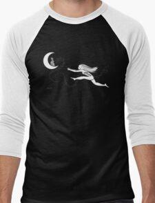 Rabbit in the Moon Men's Baseball ¾ T-Shirt