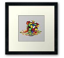 Melting Colours Framed Print
