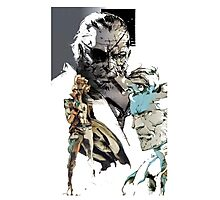 Metal Gear family reunion Photographic Print