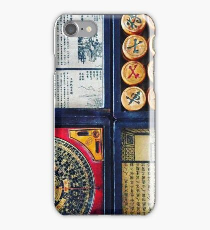 Chess and Compass iPhone Case/Skin