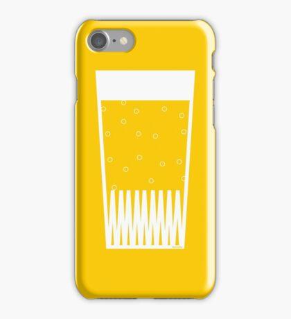 Beer glas iPhone Case/Skin