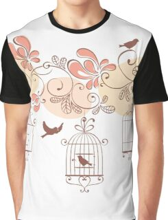 Bird Cage #10  Graphic T-Shirt
