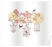 Bird Cage #10  Poster