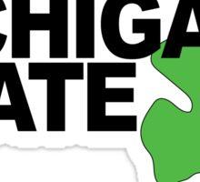 Free City Michigan State Sticker