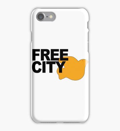 Free City Orange Dove iPhone Case/Skin
