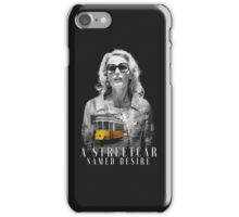 Gillian Anderson - A Streetcar Named Desire iPhone Case/Skin