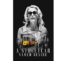 Gillian Anderson - A Streetcar Named Desire Photographic Print
