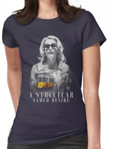 Gillian Anderson - A Streetcar Named Desire Womens Fitted T-Shirt