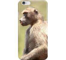 Contemplating The MEaning Of Life..... iPhone Case/Skin