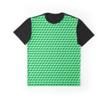 Cubed (DARK GREEN) Graphic T-Shirt
