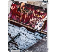 """DANGER"" iPad Case/Skin"
