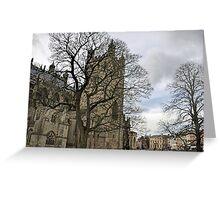 Exeter Cathedral............Devon UK Greeting Card