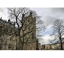Exeter Cathedral............Devon UK Photographic Print