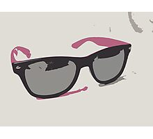 Pink Sunglasses Photographic Print