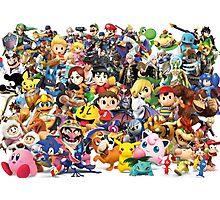 Super Smash Bros Photographic Print