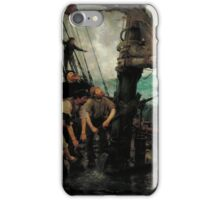 Henry Scott Tuke - All Hands to the Pumps, Tate Britain iPhone Case/Skin