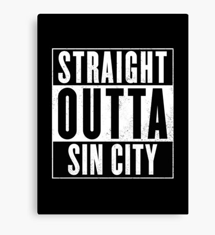 Sin City Canvas Print