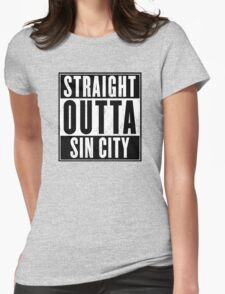 Sin City Womens Fitted T-Shirt