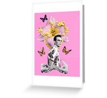 Perfection is handmade Greeting Card