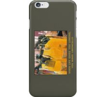 Limoncello (when life gives you lemons) iPhone Case/Skin