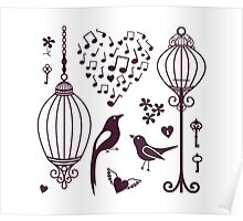 Bird Cage #15  Poster