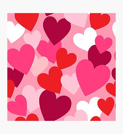Sweet Hearts for your Sweetheart Photographic Print