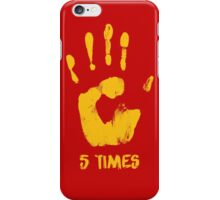 Liverpool FC - 5 Times iPhone Case/Skin
