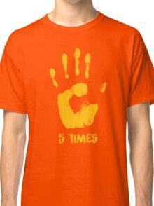 Liverpool FC - LFC - 5 Times Classic T-Shirt