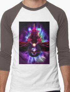Dragon Orb Men's Baseball ¾ T-Shirt