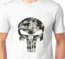 Daisy Punisher Skull Unisex T-Shirt