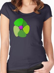 Flower 8 Women's Fitted Scoop T-Shirt
