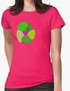 Flower 8 Womens Fitted T-Shirt