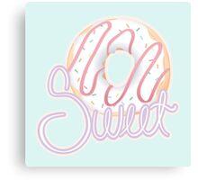 Donut you like sweets? Canvas Print
