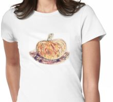 Pumpkins for carving Womens Fitted T-Shirt