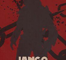 Star Wars Jango Fett Unchage - Django Unchained Logo by fn2187