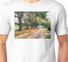 Along the Path Under the Trees Unisex T-Shirt
