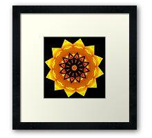 Monarch Mandala Framed Print