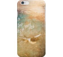 Colorful Workshop Wall Background iPhone Case/Skin