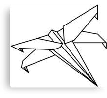 Star Wars - Paper X-Wing  Canvas Print