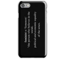 Feminist Case iPhone Case/Skin