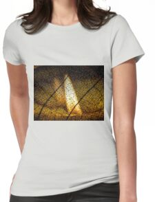 Flame's Reflection Womens Fitted T-Shirt
