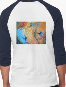 Kingfisher Colours Men's Baseball ¾ T-Shirt
