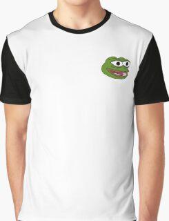 Singular Pepe the frog design. Graphic T-Shirt