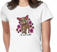 Frankie Girl Womens Fitted T-Shirt