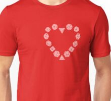 Dice Heart Unisex T-Shirt