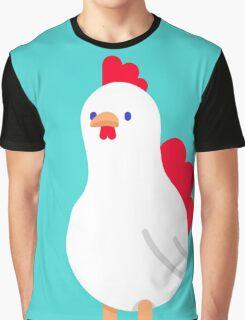 cool cartoon chicken Graphic T-Shirt