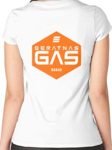 Beratnas GAS company - The Expanse Women's Fitted Scoop T-Shirt