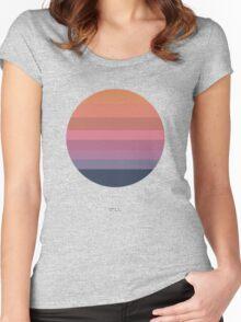 Tycho Awake (Sun Design) Women's Fitted Scoop T-Shirt